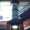 Camera Lucida in a walk-in column