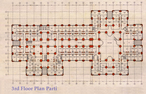 CEB plan of the 3rd floor